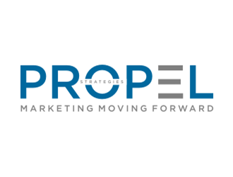 PROPEL Strategies logo design concepts #18