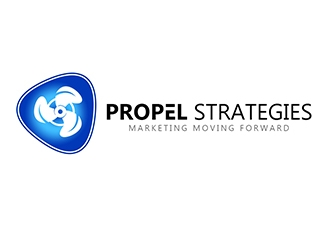 PROPEL Strategies logo design concepts #20