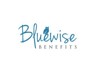 Bluewise Benefits logo design concepts #2