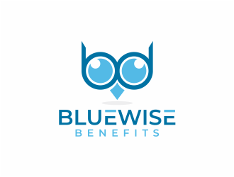 Bluewise Benefits logo design concepts #4