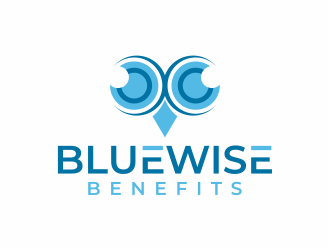 Bluewise Benefits logo design concepts #5