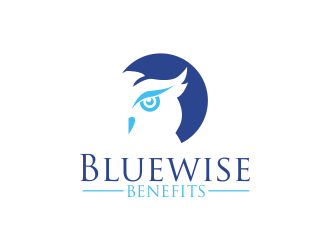 Bluewise Benefits logo design concepts #9