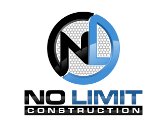 NO LIMIT CONSTRUCTION  Logo Design