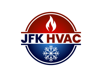JFK HVAC Logo Design