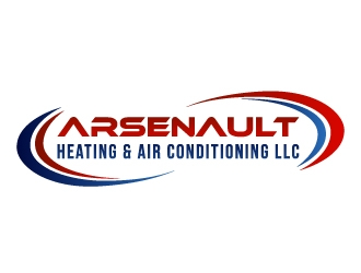 Arsenault Heating & Air Conditioning LLC. logo design
