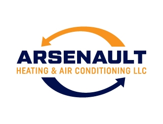 Arsenault Heating & Air Conditioning LLC. logo design concepts #2