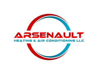 Arsenault Heating & Air Conditioning LLC. logo design concepts #3