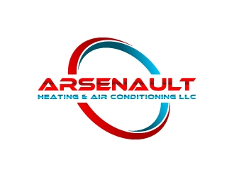 Arsenault Heating & Air Conditioning LLC. logo design concepts #4