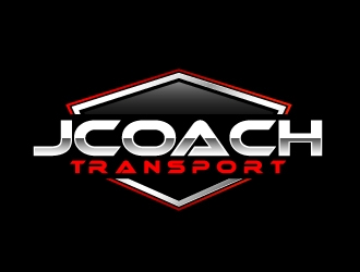 Jcoach Transport logo design