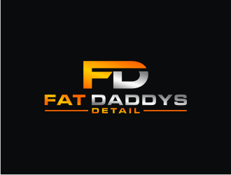 Fat Daddys Detail logo design concepts #1