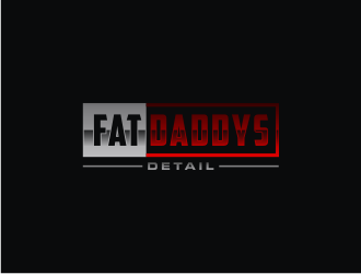 Fat Daddys Detail logo design concepts #2