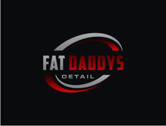 Fat Daddys Detail logo design concepts #3