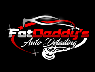 Fat Daddys Detail logo design concepts #4