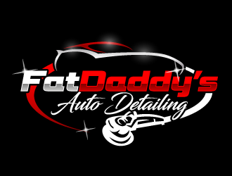 Fat Daddys Detail logo design