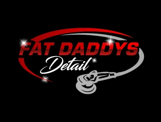 Fat Daddys Detail logo design concepts #6