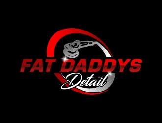 Fat Daddys Detail logo design concepts #7