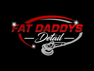 Fat Daddys Detail logo design concepts #9