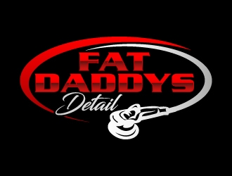 Fat Daddys Detail logo design concepts #10