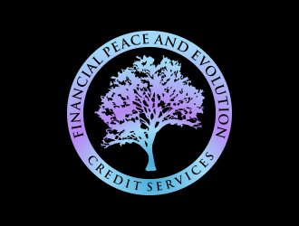 Financial Peace and Evolution Credit Services logo design