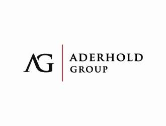 Aderhold Group logo design concepts #8