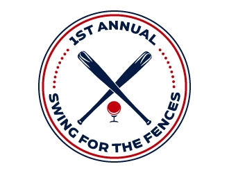Swing Fore the Fences logo design concepts #2