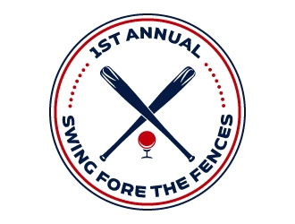 Swing Fore the Fences logo design concepts #5