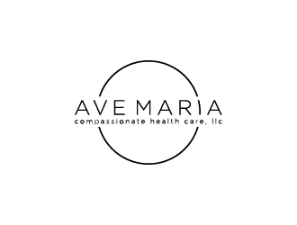 Ave Maria Compassionate Health Care, LLC logo design concepts #4
