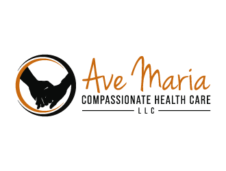 Ave Maria Compassionate Health Care, LLC logo design concepts #5