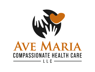Ave Maria Compassionate Health Care, LLC logo design concepts #6