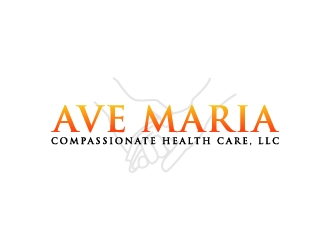 Ave Maria Compassionate Health Care, LLC logo design concepts #7