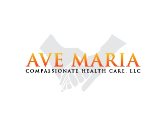 Ave Maria Compassionate Health Care, LLC logo design concepts #8