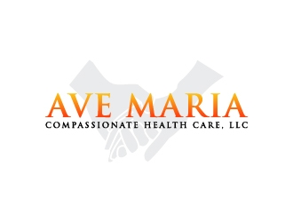 Ave Maria Compassionate Health Care, LLC logo design concepts #3