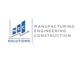 MEC (Manufacturing Engineering Construction)   SOLUTIONS logo design concepts #2