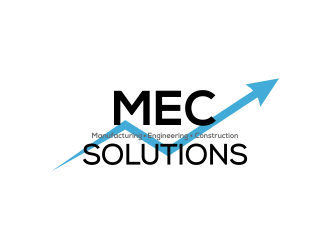 MEC (Manufacturing Engineering Construction)   SOLUTIONS logo design concepts #3