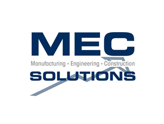 MEC (Manufacturing Engineering Construction)   SOLUTIONS logo design concepts #4