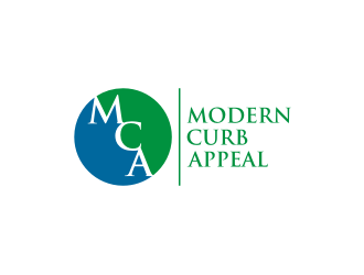 Modern Curb Appeal logo design concepts #4