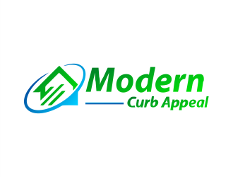 Modern Curb Appeal logo design concepts #7