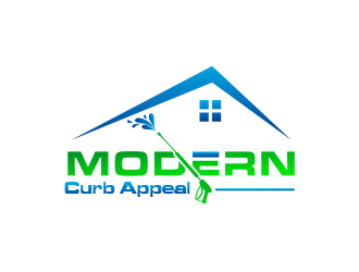 Modern Curb Appeal logo design concepts #9