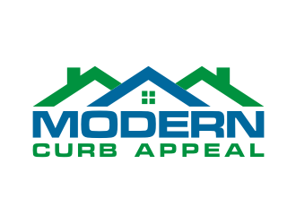 Modern Curb Appeal logo design concepts #10