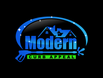 Modern Curb Appeal logo design concepts #12