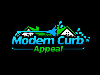 Modern Curb Appeal logo design concepts #13