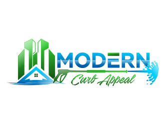 Modern Curb Appeal logo design concepts #17