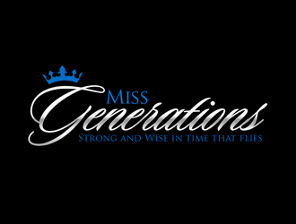Miss Generations logo design concepts #3
