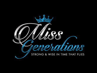 Miss Generations logo design concepts #4