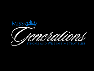 Miss Generations logo design concepts #5