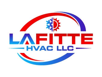 LaFitte HVAC LLC  logo design concepts #10