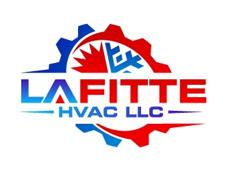 LaFitte HVAC LLC  logo design concepts #12