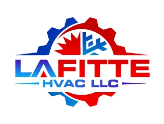 LaFitte HVAC LLC  logo design concepts #13