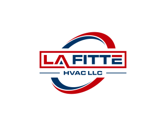 LaFitte HVAC LLC  logo design concepts #17