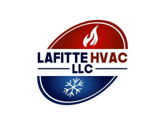 LaFitte HVAC LLC  logo design concepts #20
